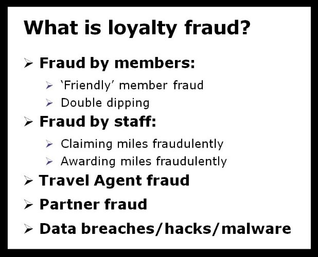 what is layalty fraud
